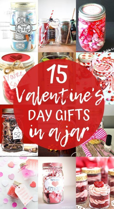 Valentine S Day Mason Jar Gifts 14 Valentine S Gifts In A Jar