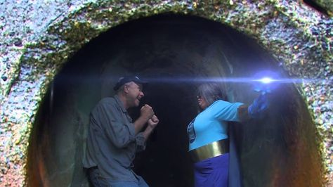 """Join the Washington Stormwater Center's Stormwater Superhero as she shows us just where stormwater, and the pollution it carries, ends up. This light-hearted video uses no spoken language to convey the message of """"Only Rain Down the Drain,"""" so that even non-English speakers can understand the importance of stormwater management. Video by the Washington Stormwater Center."""