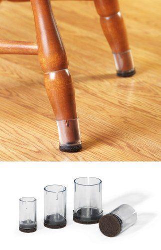 Chair Leg Cap Floor Protectors, Dining Room Chair Feet Pads