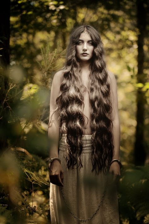 She is the spirit of the forest, shackled and suppressed, sleepy even. But underneath the deadened stupor there is wrath: ancient wrath;