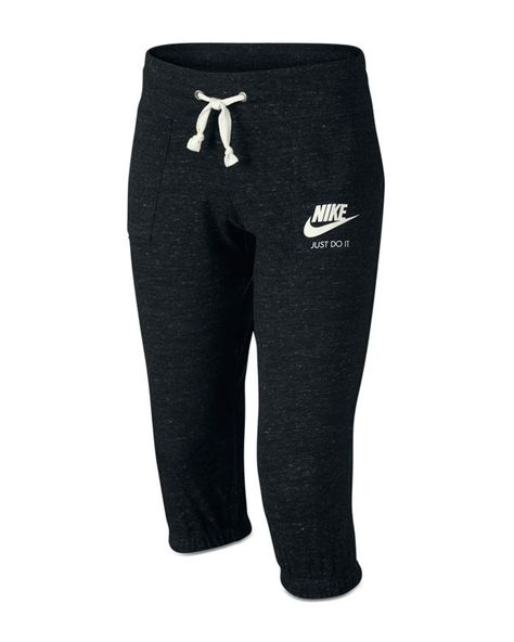 Nike Girl/'s Sportswear Crop Leggings Orange New