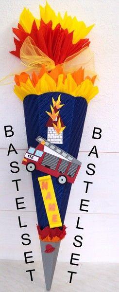 Bastelset Schultüte (23) Feuerwehr
