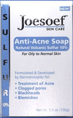 Sulfur Soap Acne 4 Pack Joesoef Skin Care Sulfur Soap With Etsy In 2020 Acne Soap Acne Treatment Anti Acne Soap