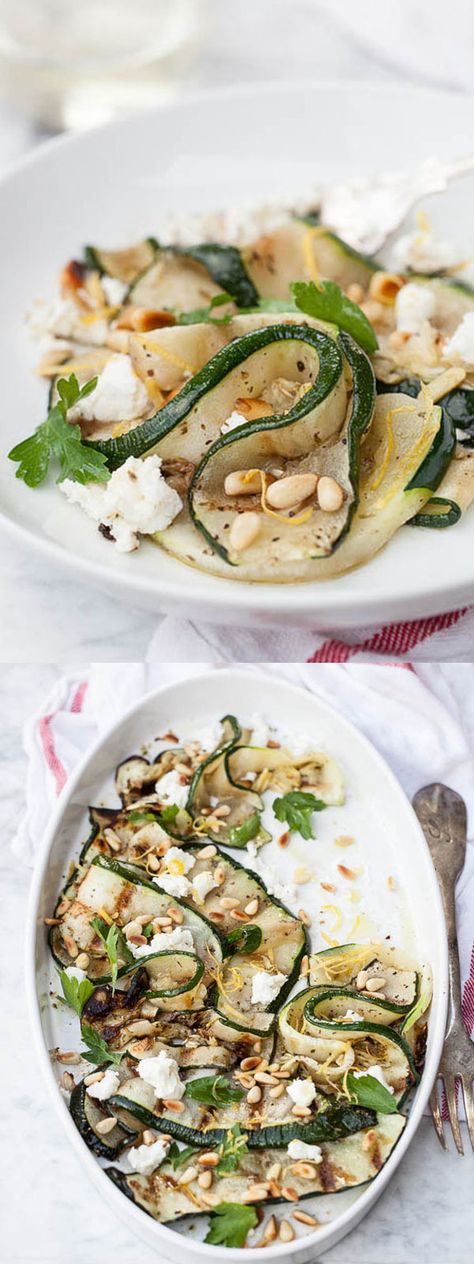 Here's a favorite way to serve your plethora of summer zucchini | foodiecrush.com