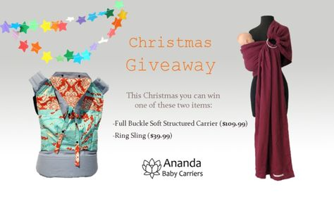 Ananda Baby Carriers - Christmas Giveaway
