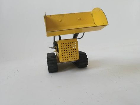 CAMION CHARGEUR Frontal TONKA Vintage 1970