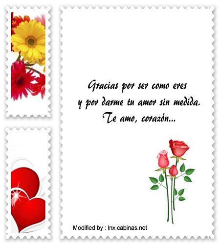 Frases Románticas Para Mi Novia Mensajes De Amor Para Mi Novia Http Lnx Cabinas Net Agradecimiento Para Mi Amo Mensajes De Amor Amor Frases Bonitas De Amor