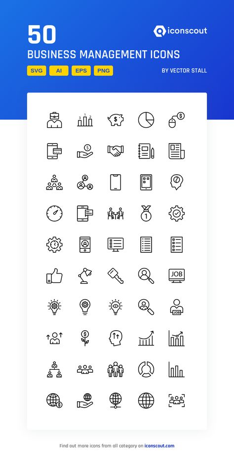 Download Business Management Icon Pack Available In Svg Png Eps Ai Icon Fonts Business Management Icon Pack Icon