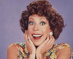 "Carol Burnett as ""Eunice Higgins"" in her TV show weekly skit, ""The Family""."