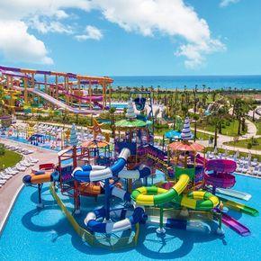 15 Grossten Aquapark Hotels In Der Turkei 2020 Mit Vielen Rutschen Hotel Turkei Erlebnisbader Urlaub