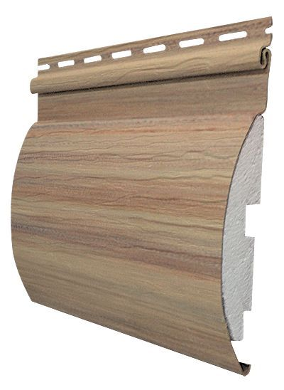 Adirondack 7 Inch X 12 Ft Siding In Maple Brown Log Siding House Siding Vinyl Log Siding