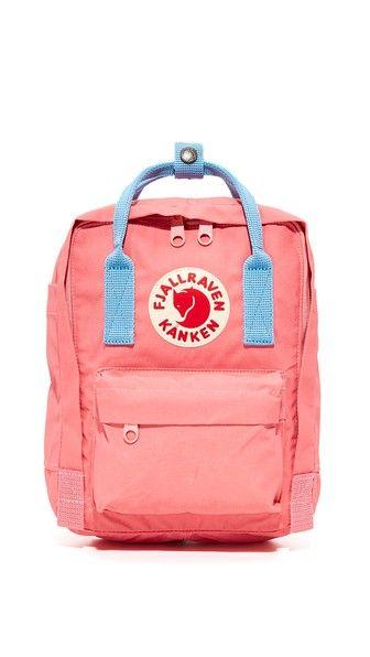 FJALL RAVEN Kanken Mini Backpack. #fjallraven #bags #canvas #backpacks #