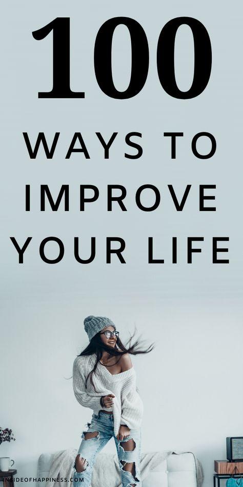 100 Ways To Improve Yourself