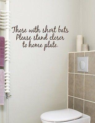 Bathroom Wall Decals, Bathroom Wall Art Stickers