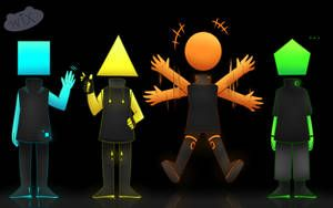Just Shape And Beat Fanart By Wixlyn Shapes Beats Beautiful Drawings