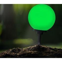 Lhg Kugelleuchte D 30cm Erdspiess Inkl Fernbedienung Rgb Farbwechsel 124161wohnlicht Com In 2020 Mit Bildern Farbwechsel Fernbedienung Licht