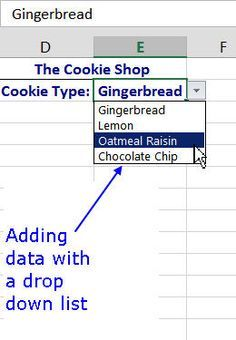 Simply Create a Drop Down List With These Tips: How to Create a Drop Down List in Excel Add and remove a drop-down list for data entry in Excel. Prevent unwanted data from being entered with data validation. Updated to include Excel Microsoft Office, Microsoft Excel, Excel Tips, Excel Hacks, Computer Help, Computer Programming, Computer Tips, Computer Gadgets, Vba Excel