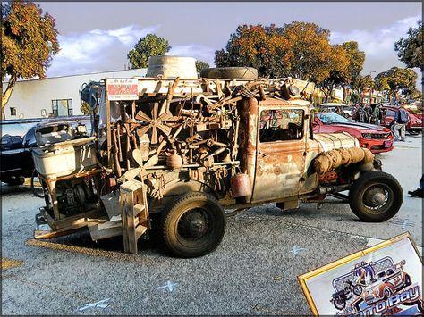 rat rod shows | RAT ROD TRUCK - Morro Bay,CA Car Show 2012 - hdr photo | Flickr ...