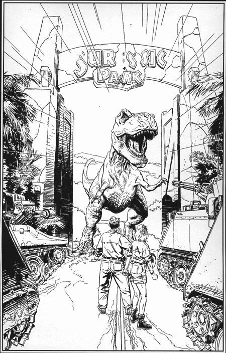Jurassic Park Coloring Page New 33 Best Jurassic Park Images On Pinterest Jurassic Park Tattoo Dinosaur Coloring Pages Jurassic Park