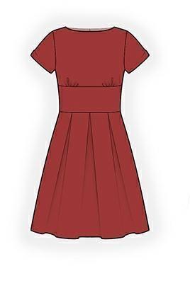 (9) Name: 'Sewing : Dress Sewing Pattern 4324