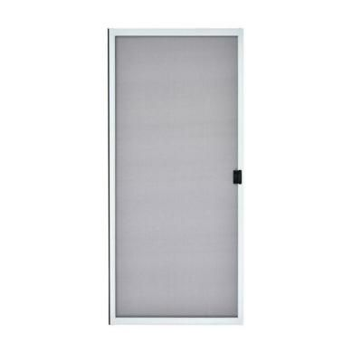 Mmi Door 31 In X 79 5 8 In White Steel Sliding Patio Screen Door