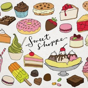 Food Clip Art Hand Drawn Clip Art Food Collage Sheet Etsy In 2021 Food Collage How To Draw Hands Clip Art