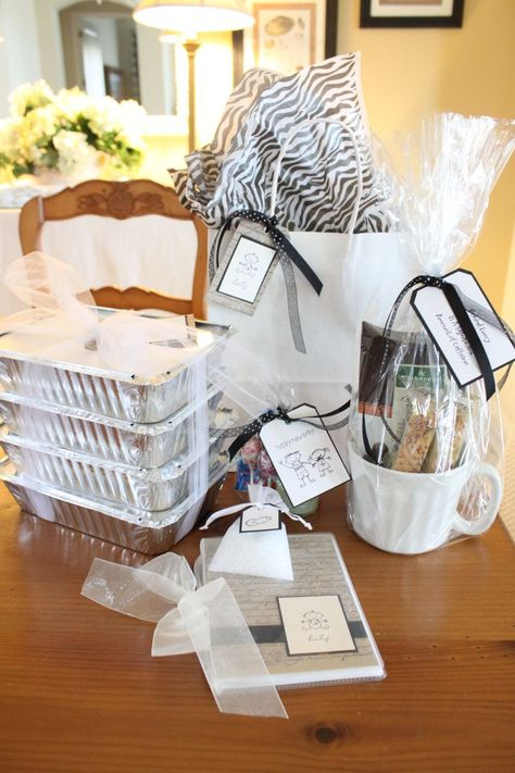 New mom meal gift- remember this for next friend having baby!