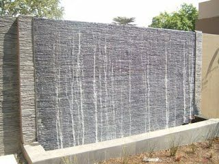 Water Wall Features For Patios And Accessories Backyard Pinterest