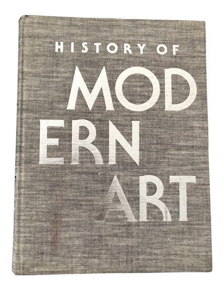 1970s Vintage History Of Modern Art Coffee Table Book History Of Modern Art Coffee Table Books Books