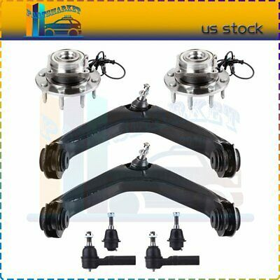Advertisement Ebay 8pcs For 07 10 Chevrolet Front Upper Control Arms Wheel Bearing And Hub Assembly In 2020 Control Arms Chevrolet Ebay