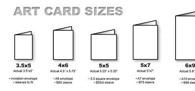 Card Sizes For Crafting Bing Images Card Sizes Standard Card Sizes Box Template Printable