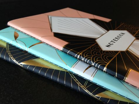 A behind-the-design look at our Art Deco Notebooks!