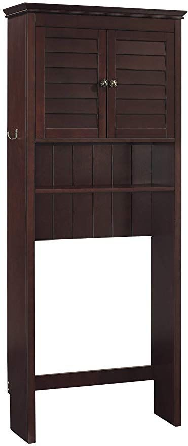 Amazon Com Crosley Furniture Lydia Space Saver Bathroom Cabinet Espresso Kitchen Dining Crosley Furniture Furniture Cabinet