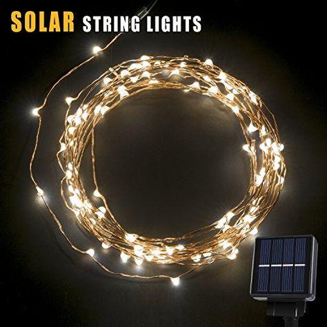 Warm White Argos Home Set of 120 LED Copper String Lights