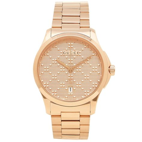 adc64e3730d Gucci YA126482 Mens G Timeless Rose Gold Diamond Pattern Quartz Watch   luxury  gucci  fashion  sports  men  mensfashion  menswear  watches   menswatches   ...