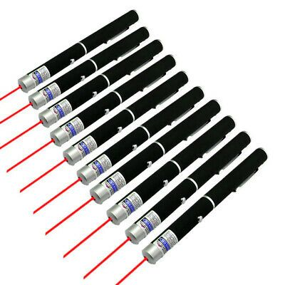 900Mile AAA Red Laser Pointer Pen Pet Cat Toy 650nm Visible Beam Astronomy Lazer