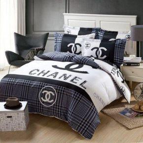Best 25 Chanel Bedding Ideas On Parure De Lit House De Couette Draps De Lit
