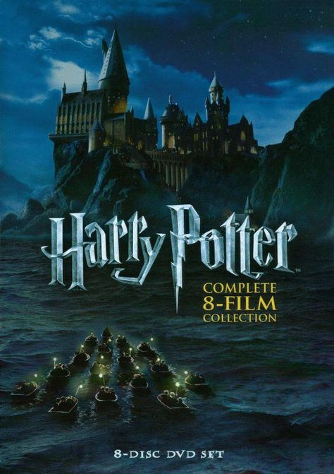 Harry Potter: Complete 8-Film Collection [8 Discs] [DVD]