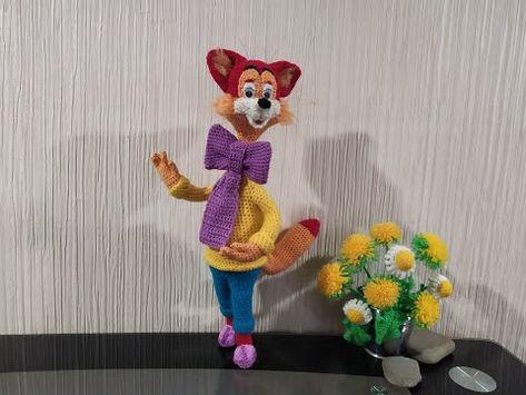 Kot Leopold Ch 5 Cat Leopold Part 5 Amigurumi Crochet Vyazat