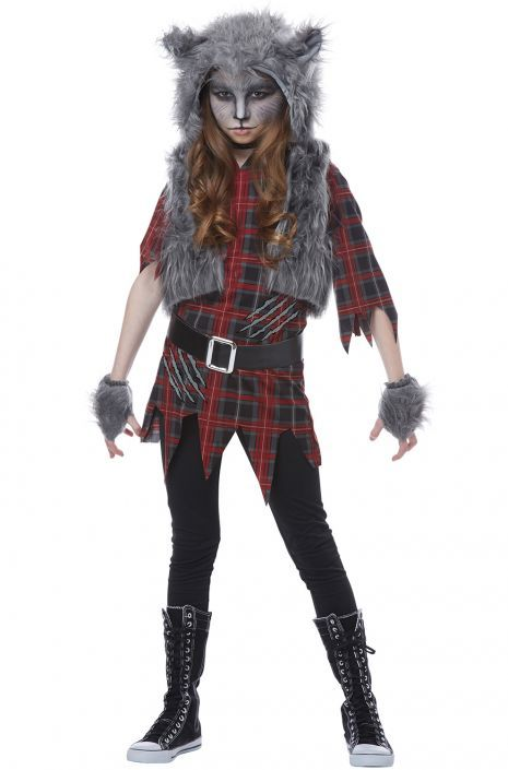 Amscan Suit Yourself She Wolf Girls/' Werewolf Costume