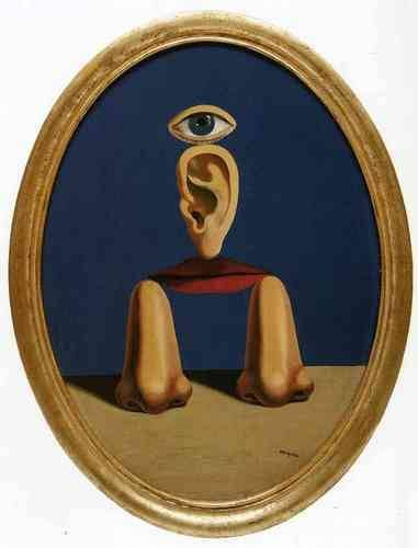 The white race, 1937, Rene Magritte https://www.wikiart.org/en/rene-magritte/the-white-race-1937