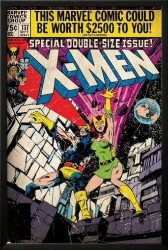 X Men137 Phoenix Colossus Comic Book Covers Comic Book Collection Marvel Comics