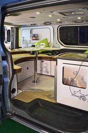 Opel Vivaro 3 Plazas En 2020 Furgoneta Camper Furgoneta