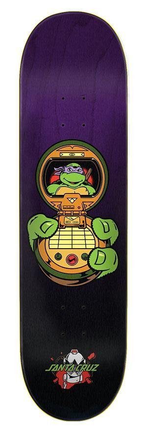 Details about  /Santa Cruz Donatello Skateboard Deck Teenage Mutant Ninja Turtles TMNT 8.125 New
