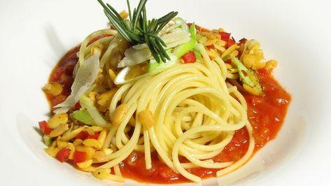 Spaghetti mit Gemüsebolognese     (A. Schuhbeck)