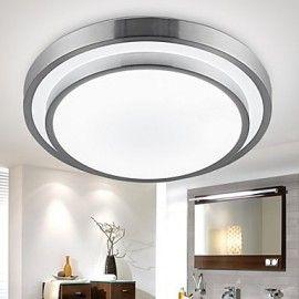Flush Mount Lights Led 18w Bathroom Kitchen Light Round Simple Modern Diameter 35cm Lightingo Co Uk Led Ceiling Lights Ceiling Lamps Bedroom White Ceiling Light
