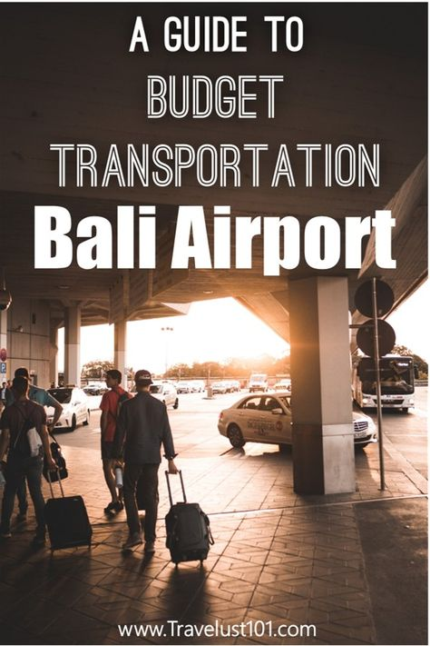 Bali Travel Guide | Bali Indonesia | Bali Airport is monopolized by the Airport Taxi Mafia, where transportation fares are nearly tripled.  Check out this guide for travel tips on how to avoid the Mafia and navigate out of the Ngurah Rai International airport!   #baliindonesia #balitravel #airport #traveltips