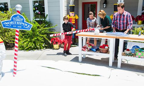 """Home & Family - Tips & Products - Mark's DIY """"Northpole"""" Sign 