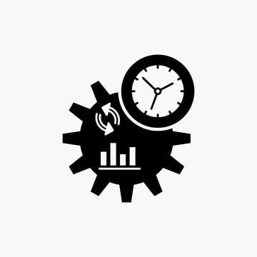 Business Engineering Management Process Glyph Icon Vector Is