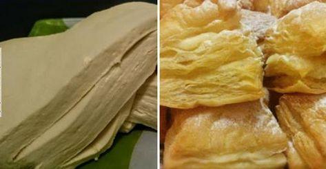 Рецепт быстрое слоеное тесто